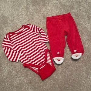 5/$30 Christmas Baby Set 6-9